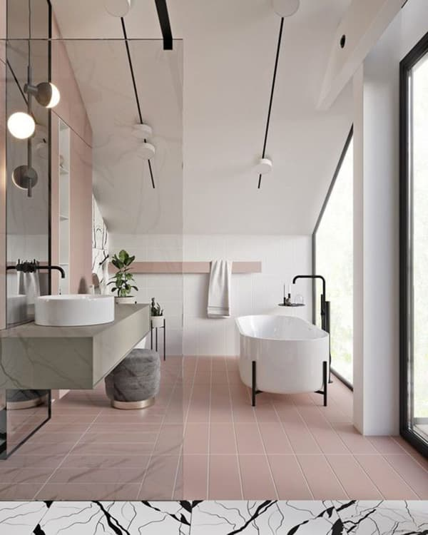 bagno pink