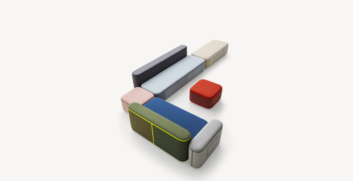 Tape Sofa by Moroso