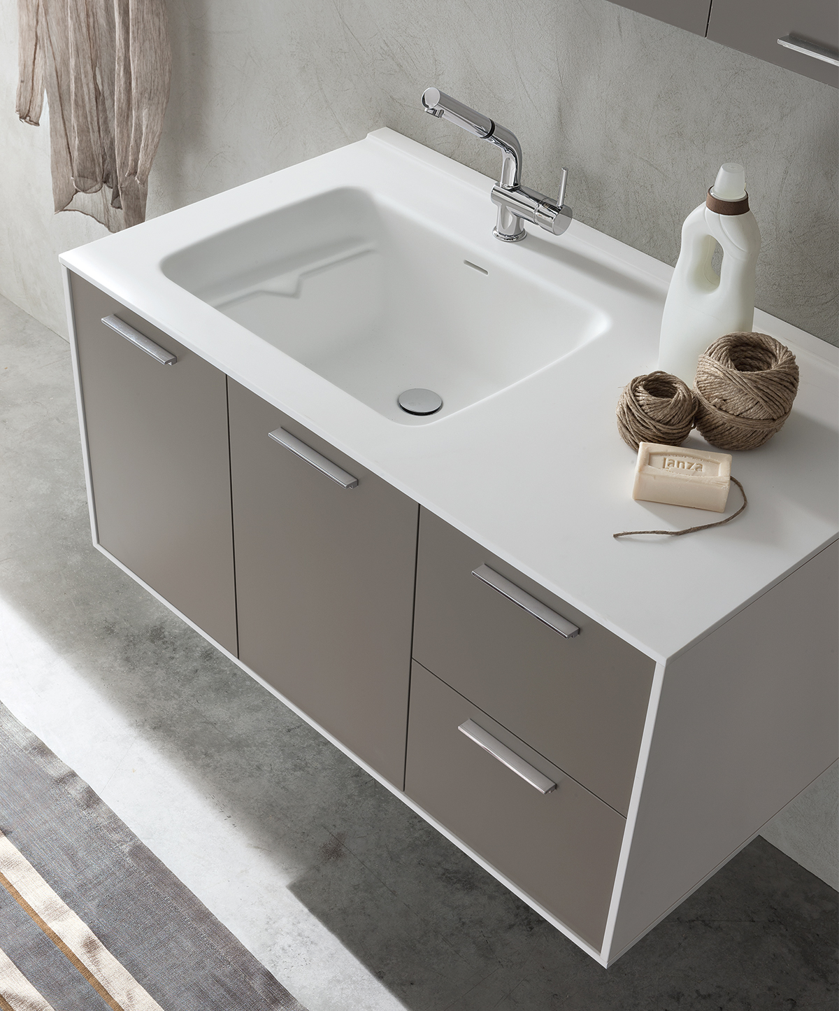 mobile lavabo in Teknoril