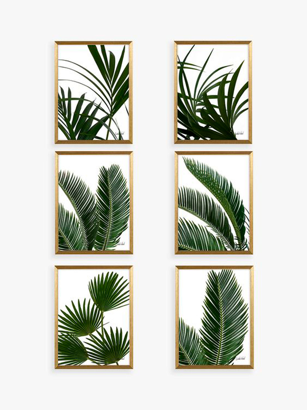 gallery wall stile tropical